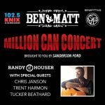 Ben and Matt's Million Can Concert