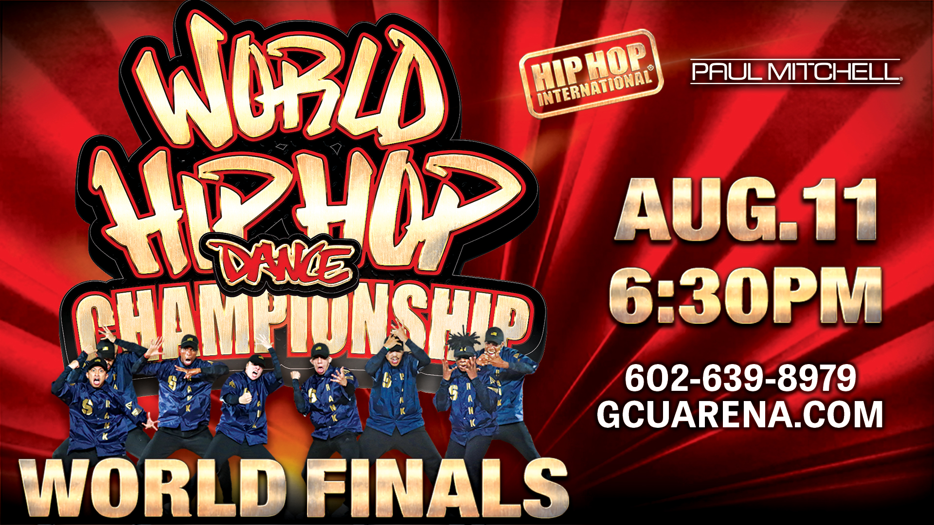 World Hip Hop Dance Championship 2018 at GCU Arena